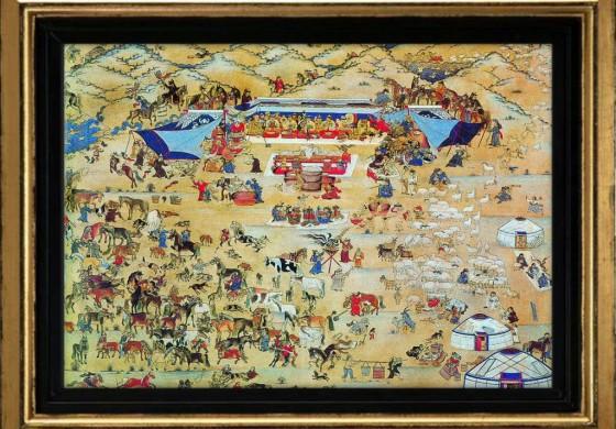 Монгол Улс холимог соёл иргэншлийн түүхийн бүтээлүүдэд : дэлхийн түүхийн бүдүүвчид гарсан өөрчлөлт.