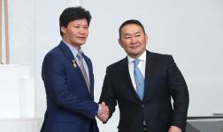 Ц.Төмөрхуяг Монгол Улсын ГАВЬЯАТ ЖҮЖИГЧИН цол хүртлээ