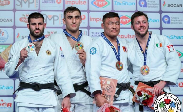 """Л.Отгонбаатар """"Анталъя Гранпри""""-аас хүрэл медаль хүртэв"""