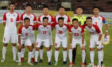 Монголын хөлбөмбөгчид Лаосын шигшээ багийг хожлоо