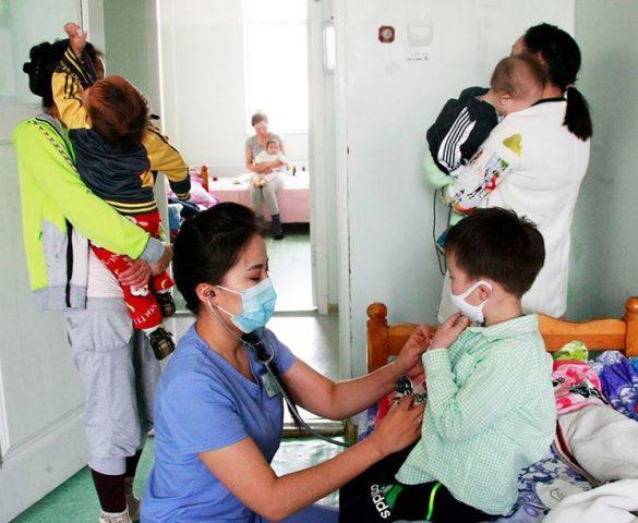 Нийт 1672 орон дээр томуу, томуу төст өвчтэй хүүхдийг хэвтүүлэн эмчилж байна.